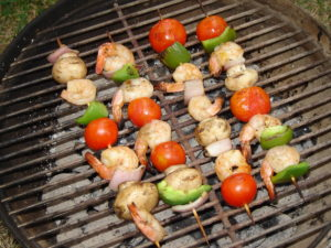 shrimp on the barby